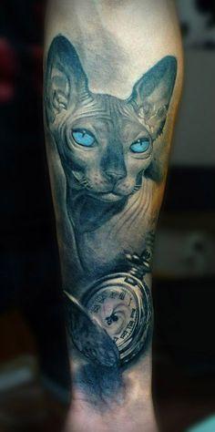 realism-tattoo-sphynx-cat-big.jpg (474×953)