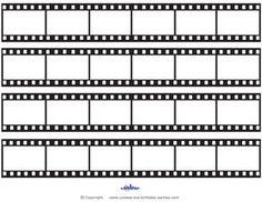 Printable Film Strip Decoration Coolest Free Printables