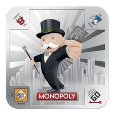 MONOPOLY One Ounce Silver 999 Two Coin Set - New Zealand Mint