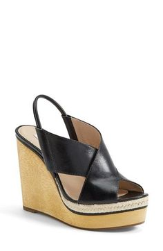cedcf0c4479f Diane von Furstenberg  Gladys  Wedge Sandal (Women) available at  Nordstrom  Foot