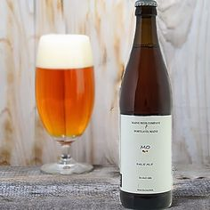 Mo, an American Pale Ale by the Maine Beer Company...6.0% ABV. My favorite beer from my favorite brewery. Light, citrusy, a little malt flavor, full-bodied beer. Restaurants in the Northeast should be serving this and other beers from the MBC.