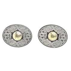 Oval Two Tone Cleltic Warrior cufflinks would make the perfect gift for the Gentleman in your life. Inspired by the Ardagh Chalice. Claddagh Jewellers - The Celtic Jewellery Specialists. Celtic Warriors, Claddagh Rings, Gold Beads, Metal Working, 18k Gold, Silver Jewelry, Cufflinks, Jewels, Sterling Silver