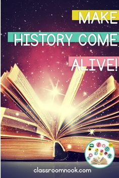 Learn how to make your social studies curriculum more interactive and engaging in the upper elementary classroom!  This blog post from The Classroom Nook has 10 ways to make history come alive in your classoom!  #upperelementary #teachingsocialstudies #socialstudies #thirdgrade #fourthgrade #fifthgrade Social Studies Curriculum, Social Studies Activities, History Activities, Teaching Social Studies, Teaching History, Fifth Grade, Third Grade, 5th Grade Teachers, Upper Elementary