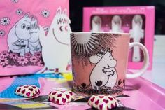 Todays Moomin Mug. Moomin Love mug.