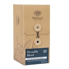 【Whittard】 Piccadilly Blend 25 Teabags ウィタード ピカデリーブレンド紅茶 25ティーバッグ