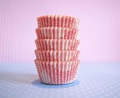 Sweet red and white striped cupcake liners for all your baking needs! Cupcake Shops, Cupcake Liners, Baking Cups, Grad Parties, Mini Cupcakes, First Birthdays, Plaid, Baby Shower, Treats
