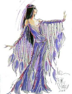Cher always looked incredible in Bob Mackie's creations.