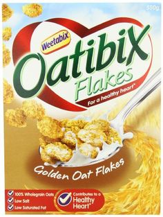 Weetabix Oatibix Flakes 550g -- More info could be found at the image url. Note: It's an affiliate link to Amazon.