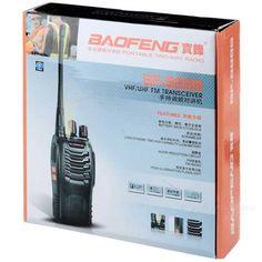 BAOFENG BF-888S 16-CH 400~470MHz 5W Walkie Talkie Set - Black + Silver + Multicolor (2PCS)