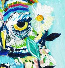 paint a bird a day for 100 days challenge... gorgeous artwork