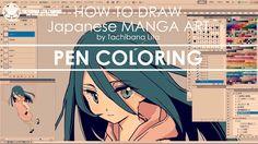 Digital Painting - St.4 | How to draw Manga Art 2017.10.13