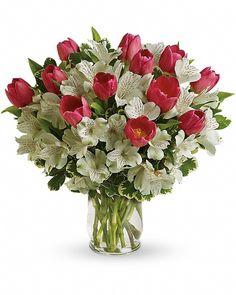 Spring Romance Bouquet | Send Flowers to Calgary