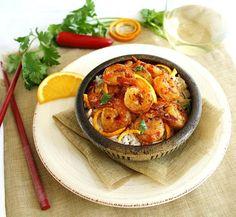 edibles spicy orange ginger shrimp more shrimp seafood grub seafood ...