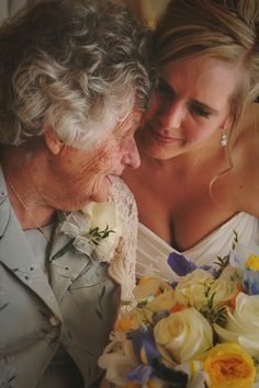 Precious Wedding Photography :: Family Wedding Photography :: Bride & Grandma