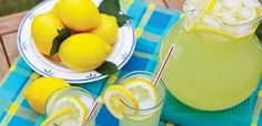 Σπιτική λεμονάδα – Χρυσές Συνταγές Homemade Lemonade, Rolls, Pudding, Dishes, Desserts, Drinks, Food, Tailgate Desserts, Plate