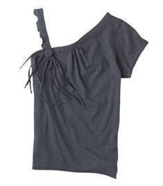 t-shirt to fashionable blouse
