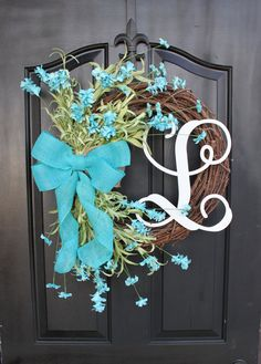 Spring Wreath  Wreath for Mothers Day  Easter by OurSentiments, $87.00