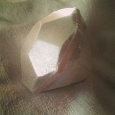 So big and shiny! If only it were real!  #huge #diamond #bathbomb