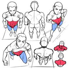 "Anatomy Drawing Reference miyuliart: ""some important studies "" - Male Figure Drawing, Figure Drawing Reference, Anatomy Reference, Art Reference Poses, Hand Reference, Anatomy Drawing, Anatomy Art, Manga Drawing, Eye Anatomy"