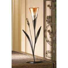 12 DAWN BLOSSOM TEALIGHT CANDLE HOLDER WEDDING TABLE CENTERPIECES NEW~13917