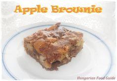 Apple Brownies: http://hungarianfoodguide.blogspot.hu/2013/02/apple-brownies.html#more