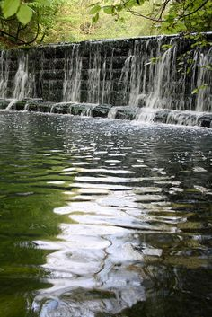 The waterfall at Jesmond Dene