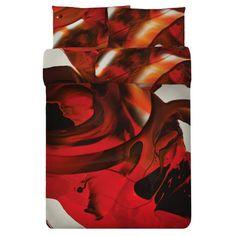 """Blood Lust"" Print Duvet Set by Alex Da Corte"