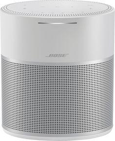 Bose Home Speaker 300 argent - Enceinte Wifi Multi Room Speakers, Great Speakers, Home Speakers, Wireless Speakers, Portable Speakers, Bose, Sonos, Radios, Geek Squad