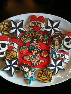 tattoo cookies!!!