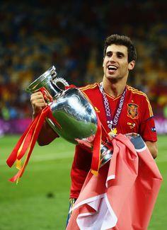 Javi Martinez Spain v Italy - UEFA EURO 2012 Final