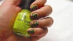 China Glaze Island Escape Leopard Design