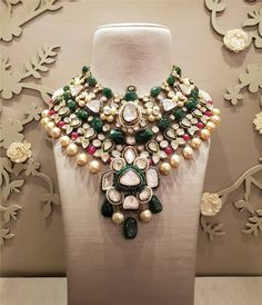 Delhi : October 2018 at Hotel Ashok, Chanakyapuri Crafted to perfection, jewels by strike a perfect melange of gemstones and emaralds that define immaculate craftsmanship. Indulge in their finest bridal jewelry only at Bridal Asia Delhi 2018 . Fine Bridal Jewelry, Indian Wedding Jewelry, Diy Indian Jewelry, Indian Bridal, Stylish Jewelry, Fashion Jewelry, Diy Crafts Jewelry, India Jewelry, Jewelry Collection