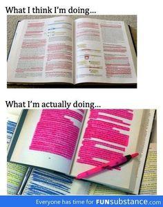 Highlighting Expectations Vs Reality  #study