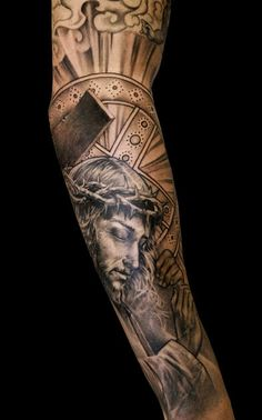 Niki Norberg: Jesus sleeve