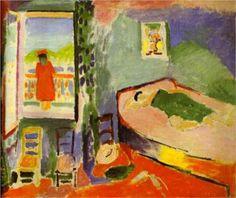 Henri Matisse (1869 - 1954) | Fauvism | Collioure Interior  - 1905