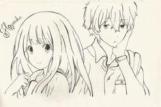 Hyouka - Chitanda and Oreki by Syntry.deviantart.com on @DeviantArt