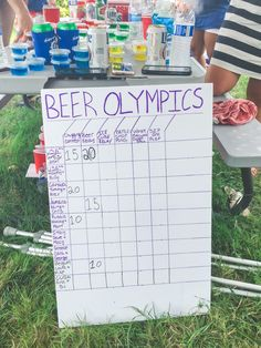 Beer Olympics Bash 2016 Beer Olympics Games To Travel And Beyond - Fresh Drinks Olympic Idea, Olympic Games, Diy Party Crafts, Craft Party, Beer Olympics Party, Beer Olympics Events, Drinking Games For Parties, Outdoor Drinking Games, Camping Drinking Games