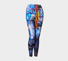 "Yoga+Leggings+""ART+ON+YOUR+YOGA+LEGS-STREETCHIC-ARAARTIST""+by+STREETCHIC+BY+ARA-+Where+dress+up+and+dress+down+meet+for+fun+on+all+occasions."