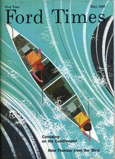 """Ford Times retrospective"" – poster print design | typography / graphic design: Charley Harper |"