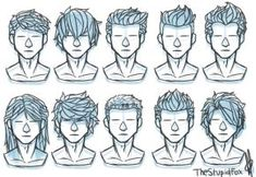 Image result for man hair style in comics