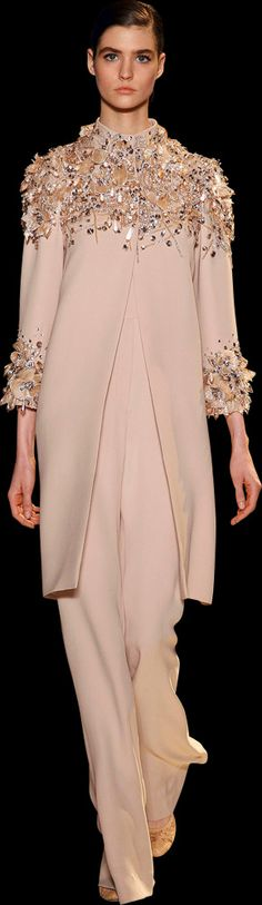 Ellie Saab ~ Evening Tunic and Pant, Pale Blush