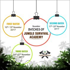 #JungleSurvivalAcademy batches for the month of November are ready to begin. Enroll now for a fun- filled adventurous experience! To enroll visit: http://www.bandhavgarh365.com/jungle-survival-activity/ #wildernesssurvival #JungleSurvival #Jungle#