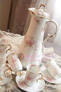 Tea in my beautiful tea set?