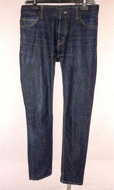 PORSCHE DESIGN JEANS Mens P'1900 Size 34 X 34 Straight Leg ...