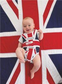 union jack baby