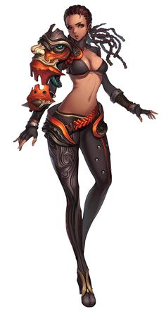Gon Female from Blade & Soul