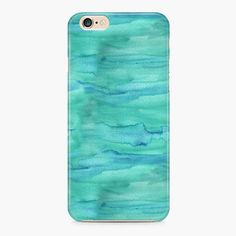 Ink Pattern Green iPhone 6/6S Case  iPhone SE Case by Create5Store