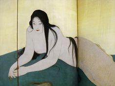 Kiyokata Kaburagi「妖魚」 鏑木清方 図録より