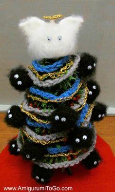 Soot Sprite Christmas Tree ~ Amigurumi To Go