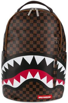 81855cad2ffb Sprayground Shark backpack  backpack sprayground Brown Faux Leather  Backpack